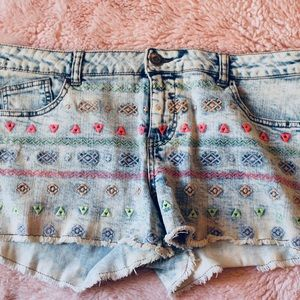 Mossimo Supply Embroidered Short